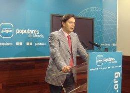 Pedro Chico en rueda de prensa