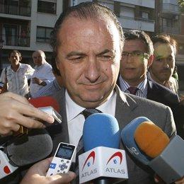 Presidente de la Diputación de Alicante, José Joaquín Ripoll
