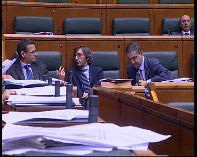 Antonio Basagoiti, Iñaki Oyarzabal y Leopoldo Barreda