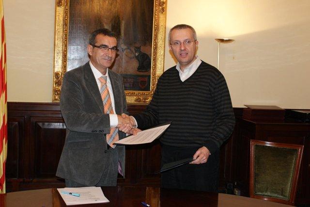 Acuerdo de la Diputación de Lleida y el Banco de Alimentos