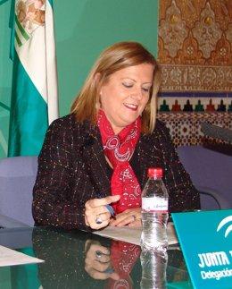 La delegada de Empleo de la Junta en Almería, Francisca Pérez Laborda