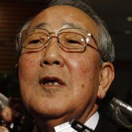 El nuevo consejero delegado de Japan Airlines (JAL), Kazuo Inamori