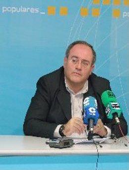 El diputado del PP por Granada Antonio Ayllón