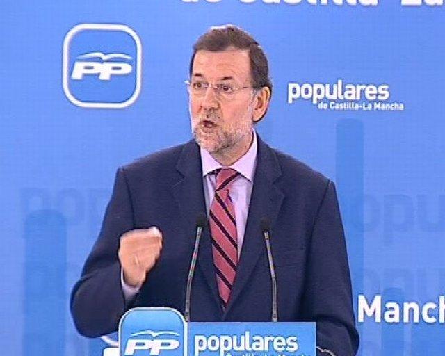 Rajoy interviene en la Junta del PP