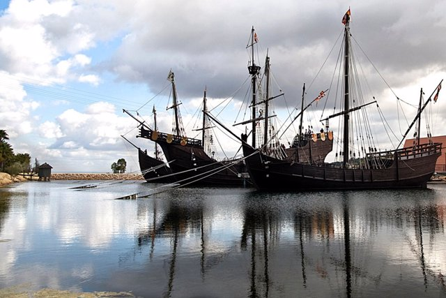 Imagen del Muelle de las Carabelas
