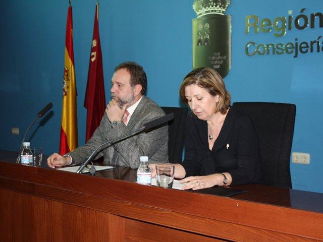 Sotoca y Palacios, en la rueda de prensa