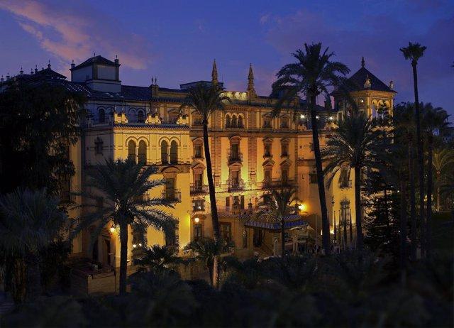 El hotel Alfonso XIII.