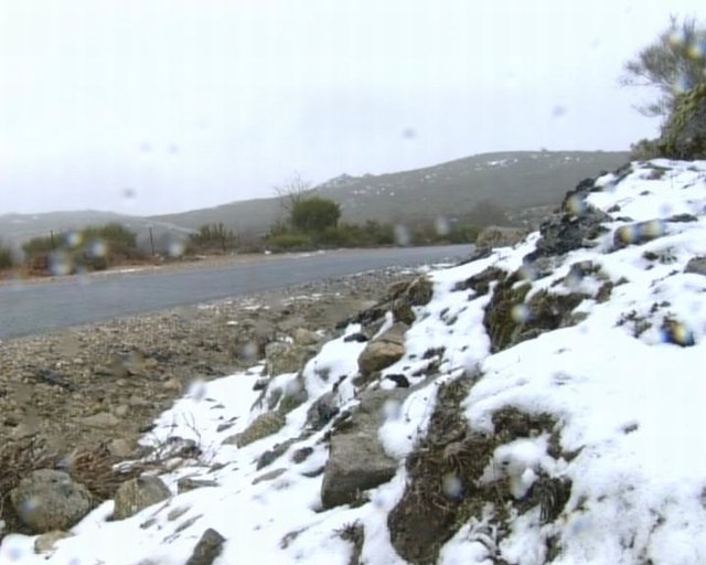 nieve en extremadura