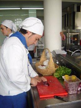 Actividades desarrolladas en la Escuela de Hostelería de Islantilla.