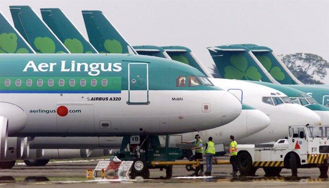 Recurso de la aerolínea Air Lingus