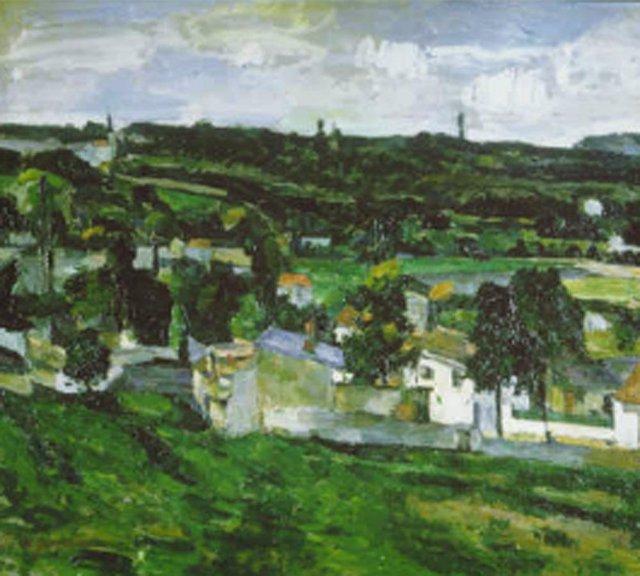 'Auvers Sur Oise', de Paul Cézanne
