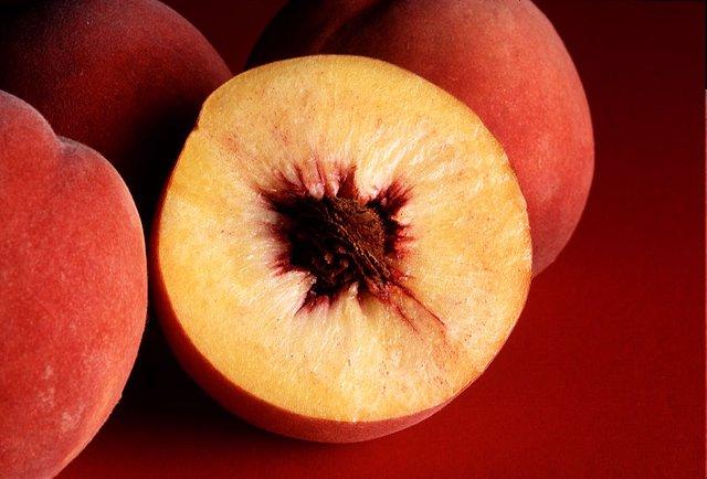 Melocotón, fruta