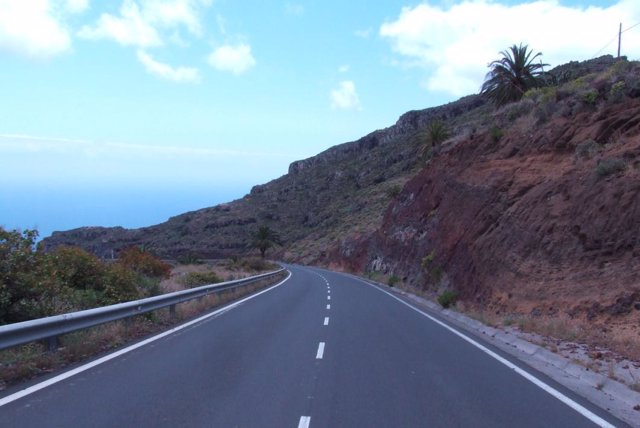 Carretera De La Gomera.