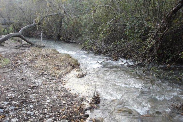 Imagen del río Majaceite