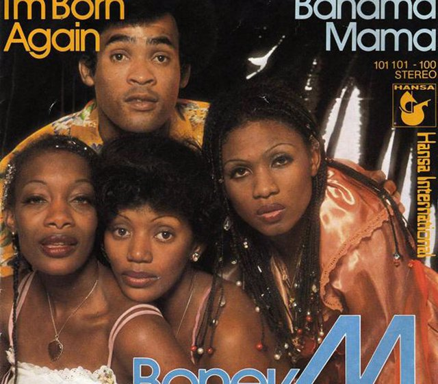 Portada disco Boney M