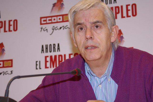 El secretario de Salud Laboral de CC.OO. Aragón, Benito Carreras