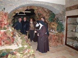 Exposición de Belenes en el Monasterio