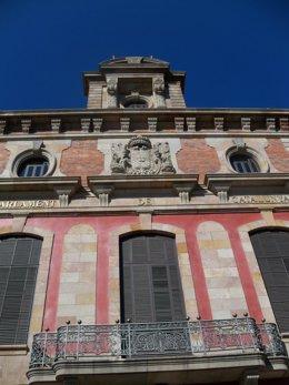 Fachada del Parlament de Catalunya.