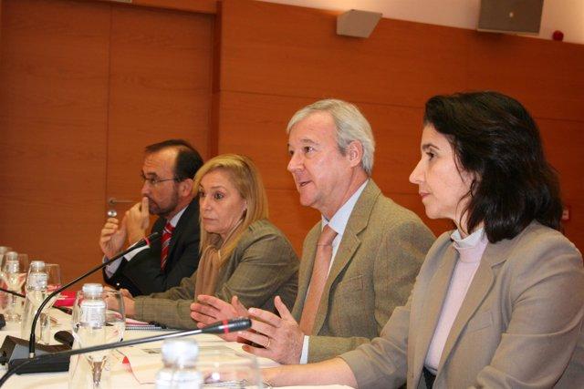 El presidente de la Comunidad Autónoma de Murcia, Ramón Luis Valcárcel, durante