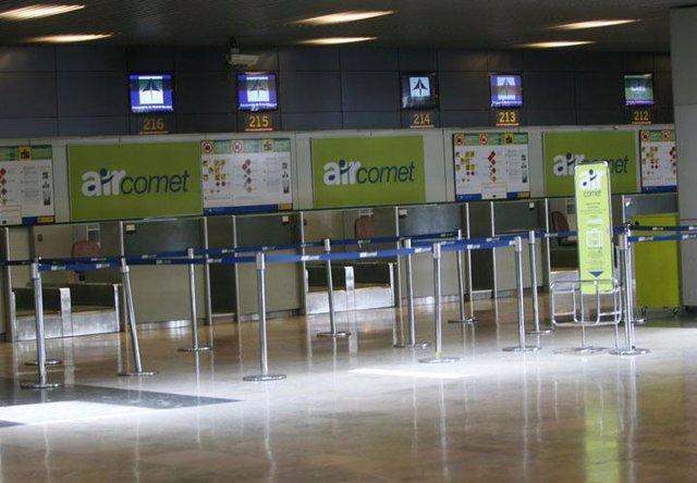 Recurso de la compañía Air Comet