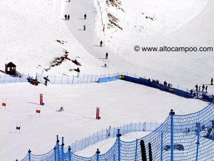 La estación de esquí de Alto Campoo se encuentra cerrada por falta de nieve