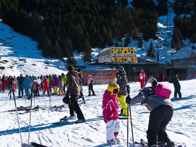 Pistas de esquí de Cerler (Huesca)