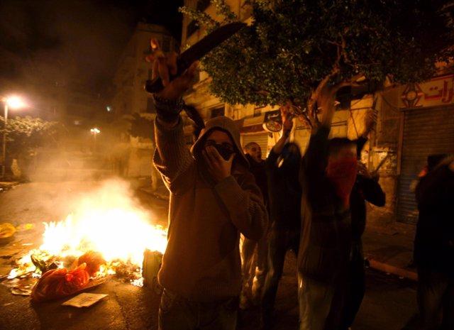 Disturbios en Argelia