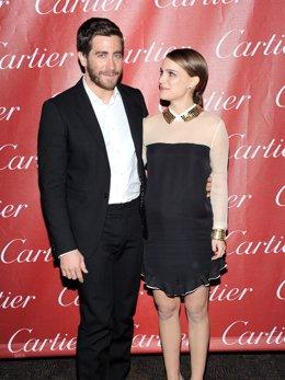 Posado de Jake Gyllenhaal y Natalie Portman en la 22 edición del Festival Intern