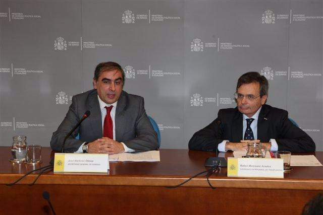 José Martínez Olmos y Rafael Matesanz