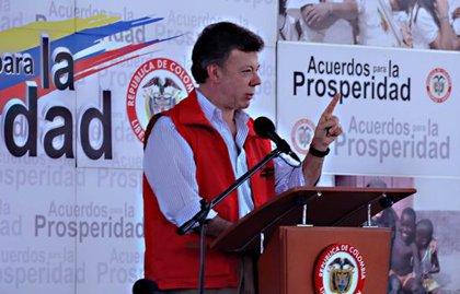 Santos asegura que las FARC compraban armas en otros países suramericanos