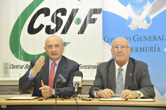 CSI-F y Consejo General de Enfermería