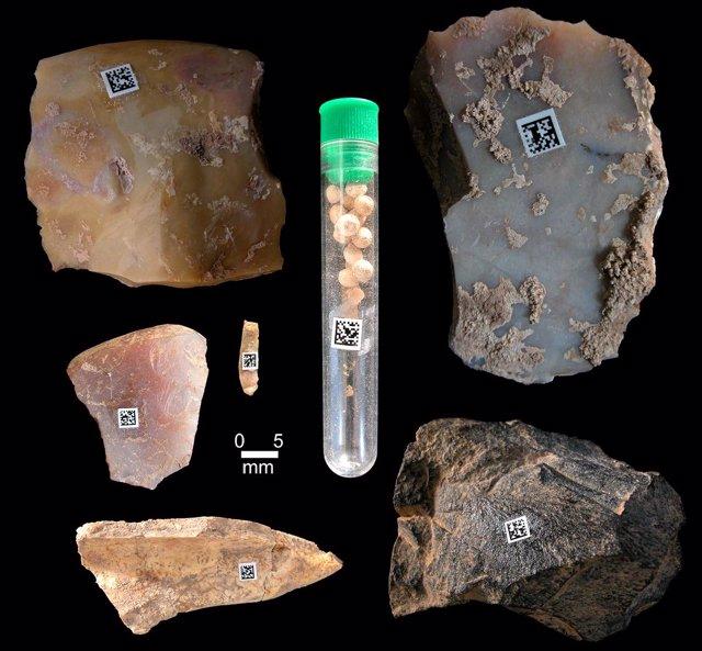 Aplicación de códigos Datamatrix en objetos arqueológicos