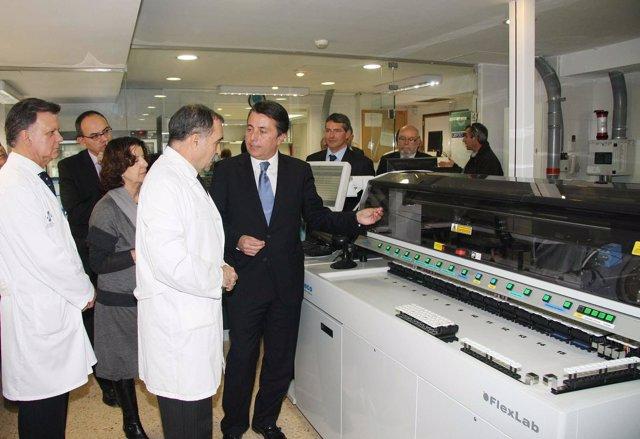 El conseller Manuel Cervera visita el General de Castellón