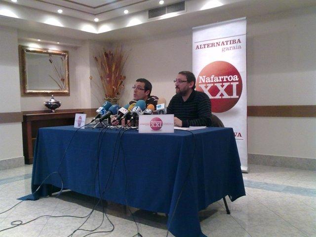 Gorka Mayo y Txelui Moreno, 8 enero 2011.