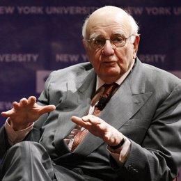 Ex presidente de la Fed, Paul Volcker