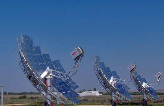 Instalación solar de Abengoa