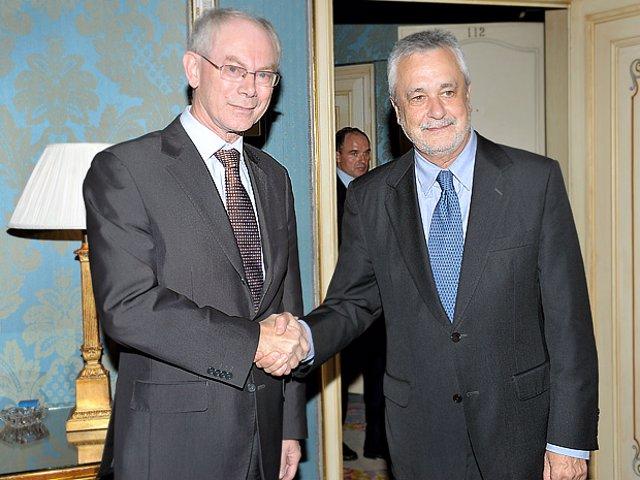 Griñán y Van Rompuy