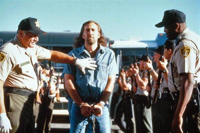 Nicolas Cage en Con Air
