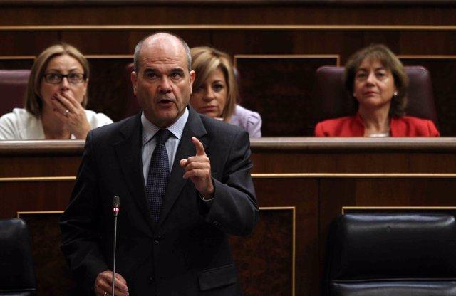 Imagen de Chaves en el Congreso
