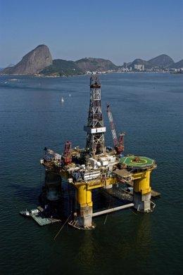 Plataforma de Repsol en Brasil