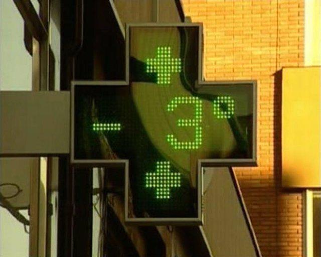 Mucho frio en España