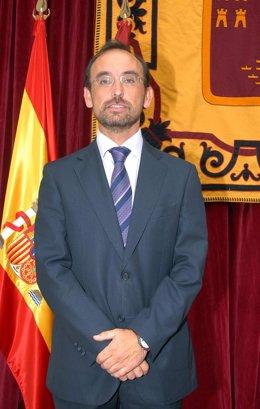 El consejero Salvador Marín