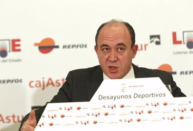 El Director General de Loterías y Apuestas del Estado (LAE), Gonzalo Fernández