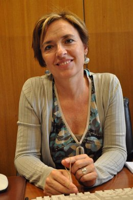 Nieves Ibeas, presidenta de CHA