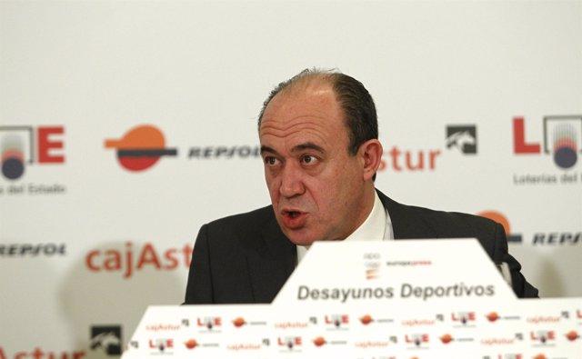 director general de Loterías y Apuestas del Estado (LAE), Gonzalo Fernández