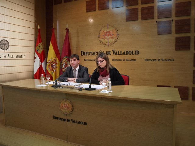 Juan José Zancada (D) y Marta Olmedo (I)