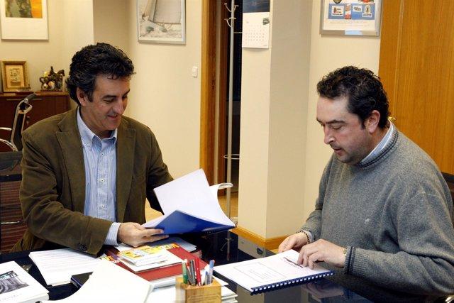 Martín y alcalde Penagos