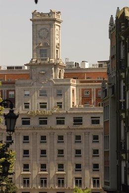 Sede de Cajastur en Oviedo (Asturias)