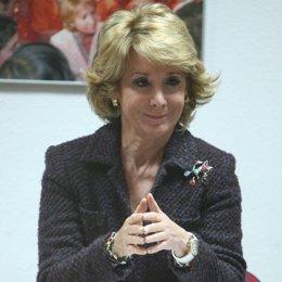 Presidenta de la Comunidad de Madrid, Esperanza Aguirre