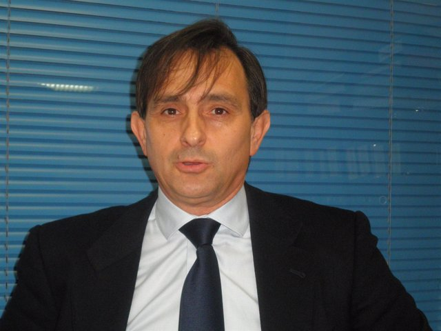 Javier Caballero, candidato del PP en Cigales
